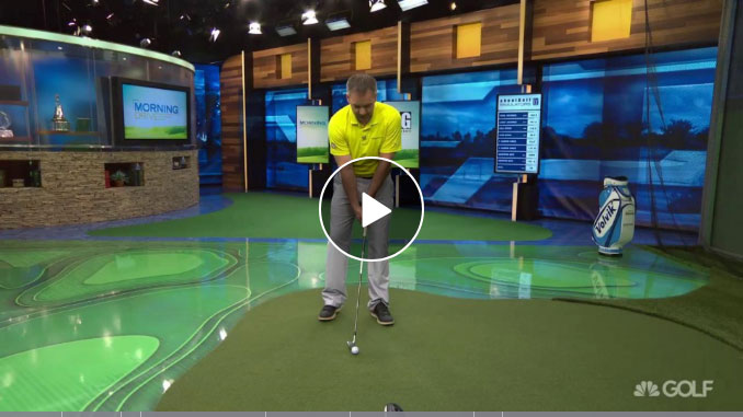 Nick Clearwater illustrates how to turn your slice into a draw