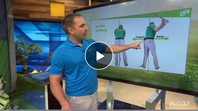 Nick Clearwater on hip sway and how it impacts your swing