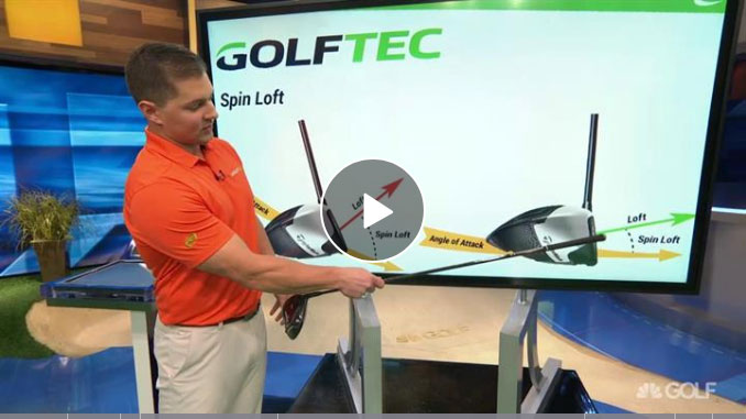 Brad Skupaka illustrates how spin loft helps you drive farther