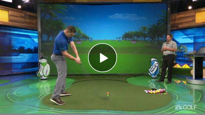 Long drive competitor Brad Skupaka explains how to smash a drive like Dustin Johnson