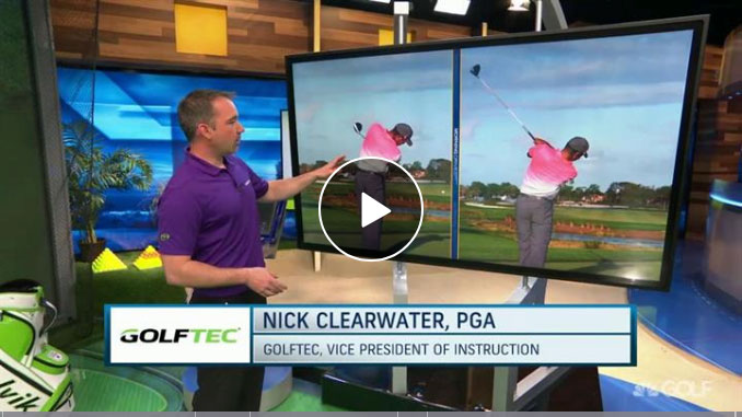 Nick Clearwater breaks down Tiger Woods follow through