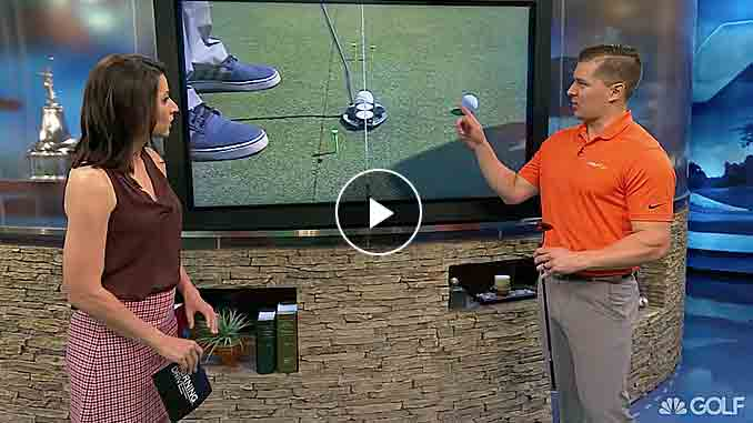 Brad Skupaka says to stay on target when putting