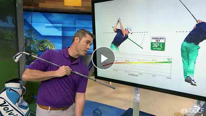 Patrick Nuber How Shoulder Tilt Affects your golf swing
