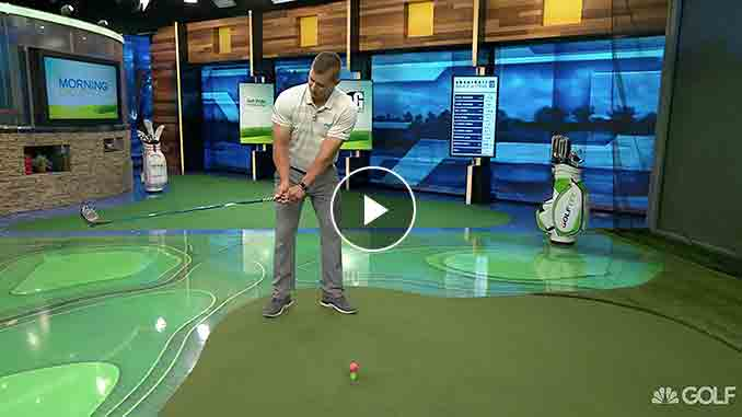 Brad Skupaka has a tip to fix your slice.