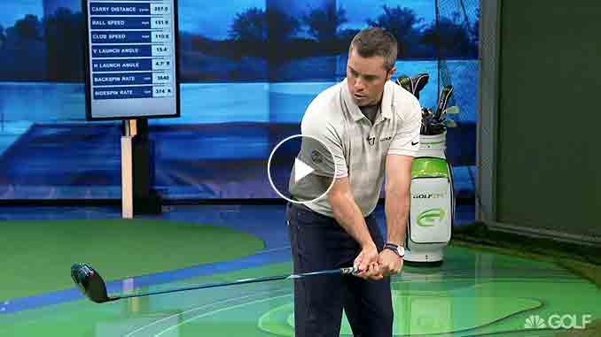 Patrick Nuber breaks down Poulter and DeChambeau's drives to help the rest of us