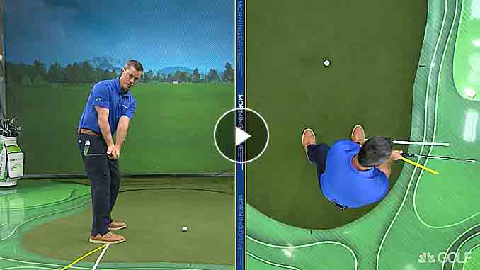Patrick Nuber appears on Golf Channel to help you fix your slice or hook