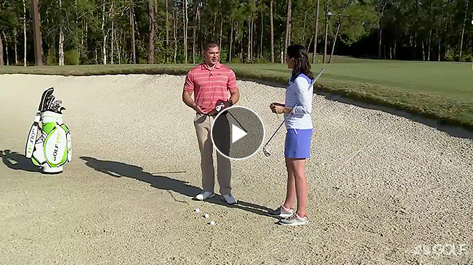 Brad Skupaka wants to help make those bunker shots a lot easier