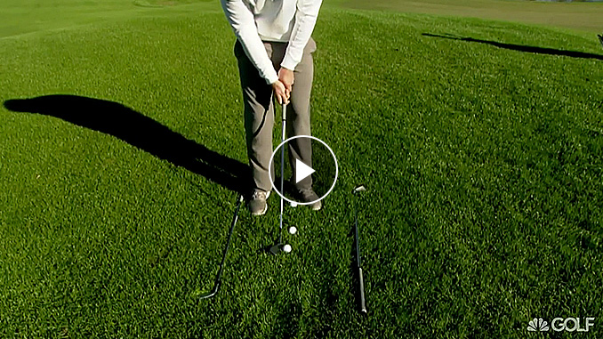 Nick Clearwater has a drill to improve your chipping in 90 seconds