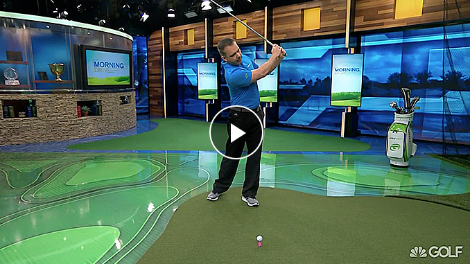 Nick Clearwater with a drill to help you hit better drives