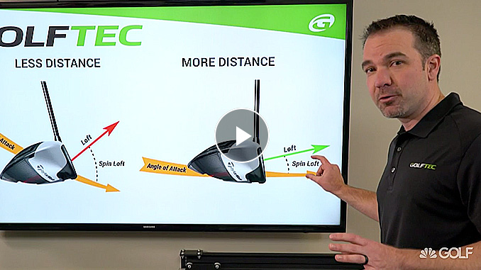 Nick Clearwater explains how less spin loft equals more distance
