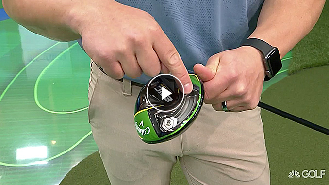 Brad Skupaka explains how adjusting your driver can eliminate your slice or hook.