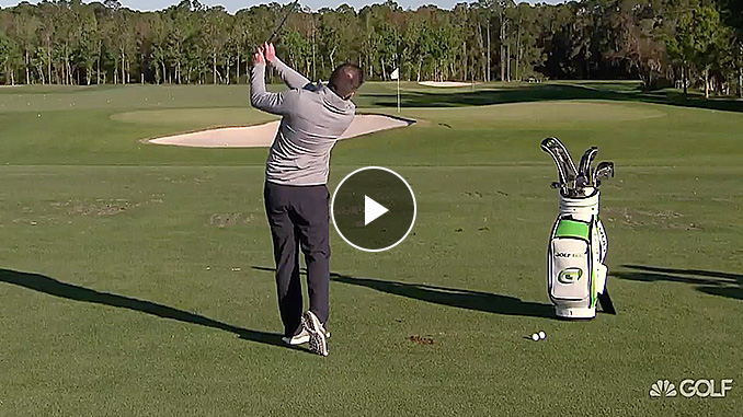 Nick Clearwater explains how your angle of attack impacts your iron shots.