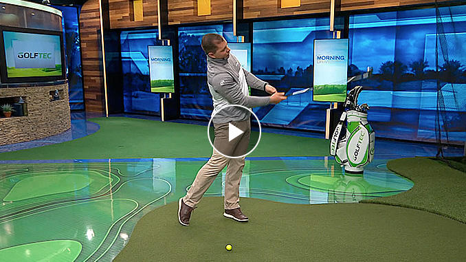 Brad Skupaka illustrates proper neck position in this exclusive Golf channel video.
